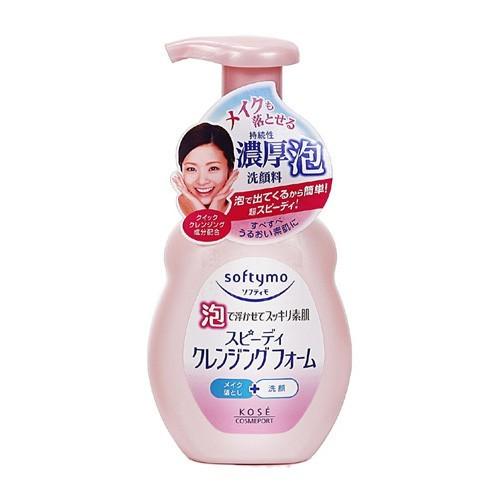 kose 高絲 softymo 泡沫瞬淨卸粧洗顏慕絲200ml 卸妝/臉部清潔/洗顏泡沫