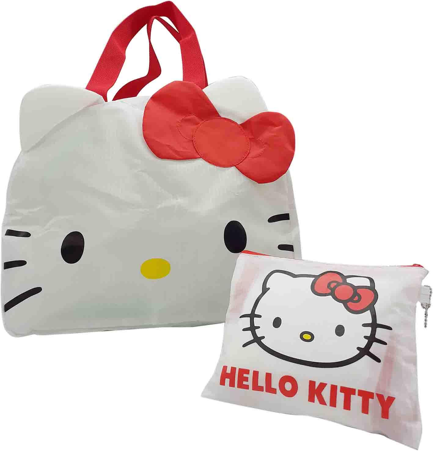 Hello kitty造型輕便折疊袋