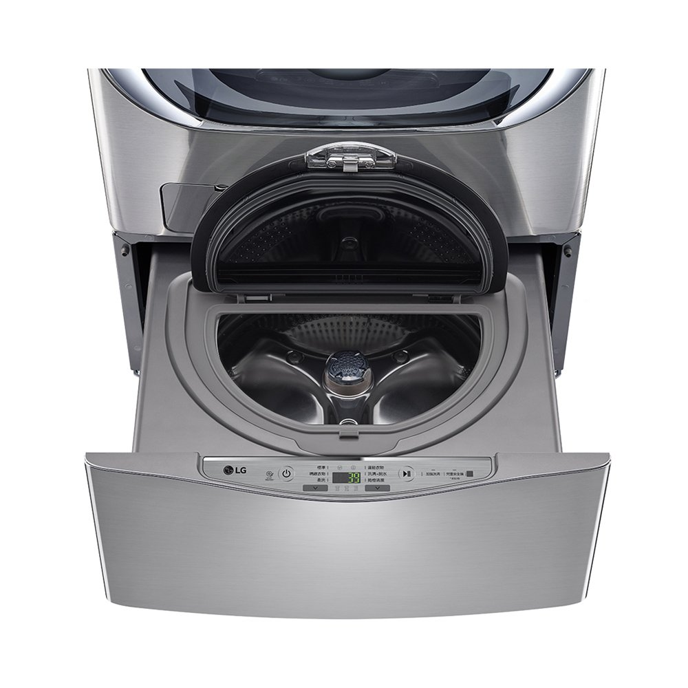 LG 樂金 MiniWash 迷你洗衣機 (加熱洗衣) 星辰銀 2.5公斤 WT-D250HV