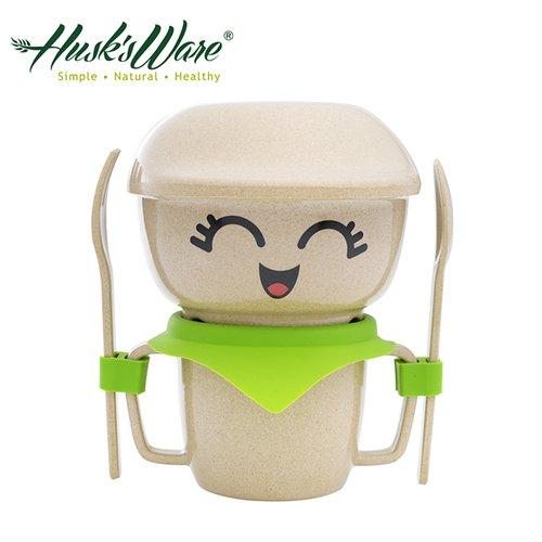 美國Husk's ware 稻殼天然無毒環保兒童餐具經典人偶迷你款