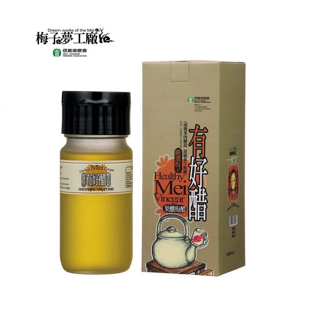 (任選)【信義鄉農會】有好醋-果釀梅醋 500g/瓶