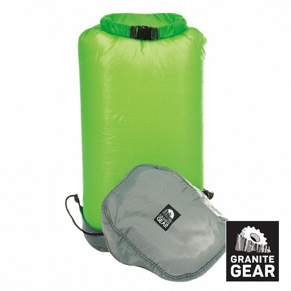 GRANITE GEAR 防水壓縮收納袋EVENTR COMPRESSOR DRYSACK (13L) 綠色 (綠色)