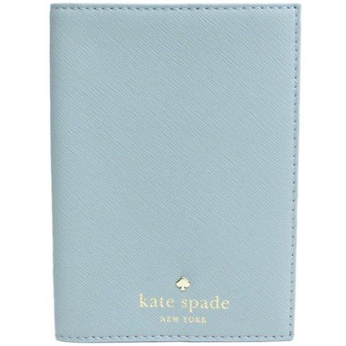 Kate Spade 經典防刮護照夾-水藍