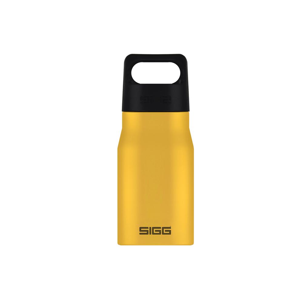 瑞士百年SIGG | 探險家不鏽鋼冷水瓶 550ml - 芥末黃