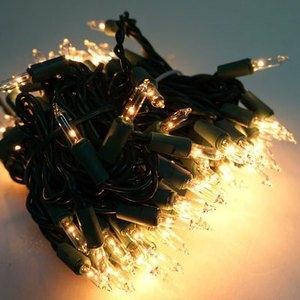 摩達客-聖誕燈串-100燈清光樹燈(鎢絲燈-溫暖清光色)(可搭聖誕樹)