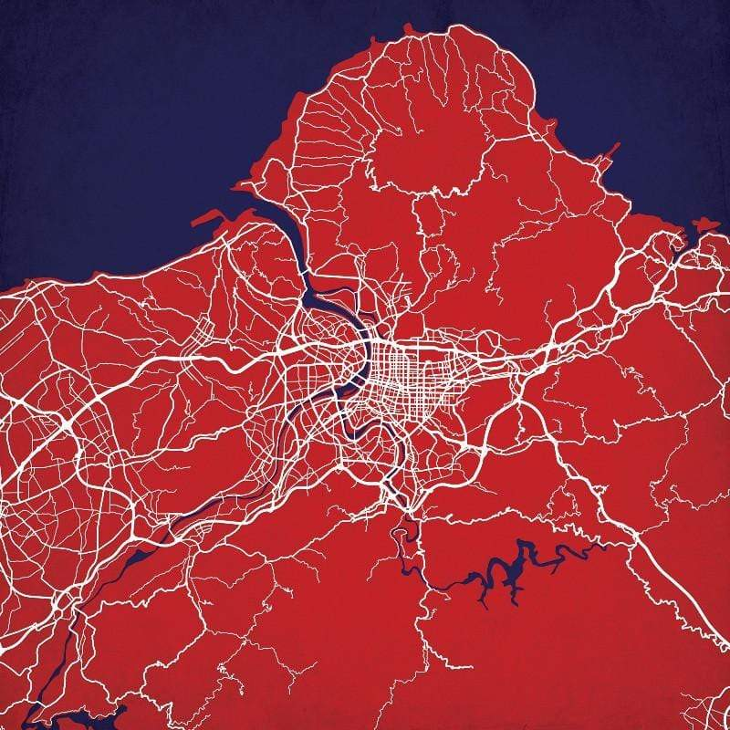 美國City Prints 城市掛畫 (任選二款超值組) h.土耳其伊斯坦堡 / h.土耳其伊斯坦堡