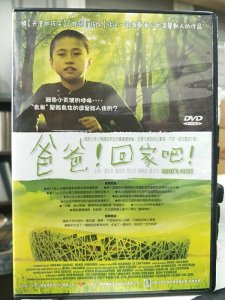 挖寶二手片-J10-016-正版DVD-華語【爸爸!回家吧】-激勵童心的溫馨動人作品(直購價)