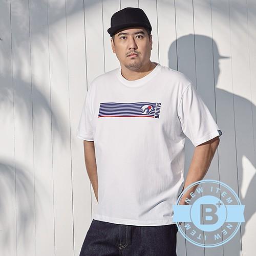 《B+大尺碼專家》SINDB59644圓領T恤-白