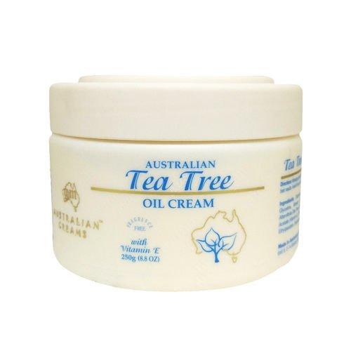 澳洲G&M 茶樹精油平衡霜 Tea Tree Oil Cream250g 效期:2021.03.21