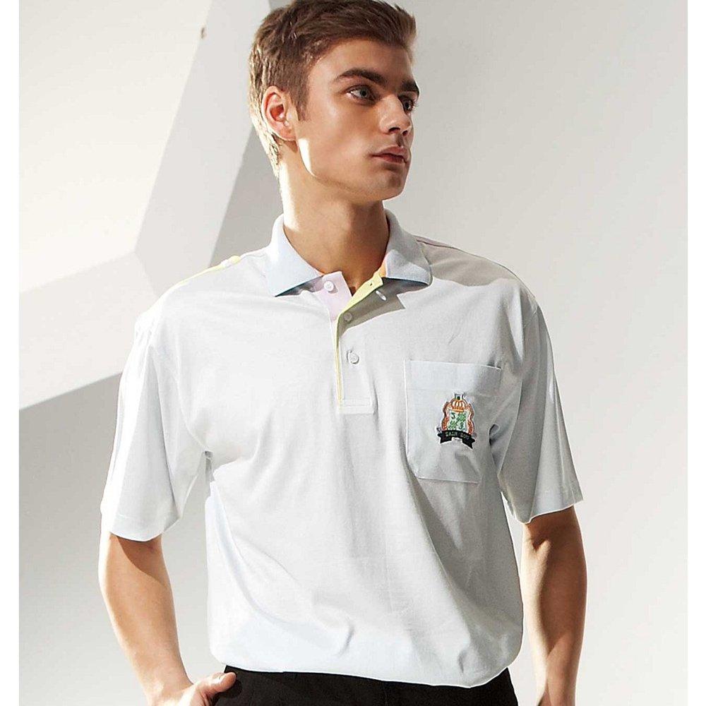 【SAIN SOU】棉 COTTON 100%短袖POLO衫(中性款)T26041-06