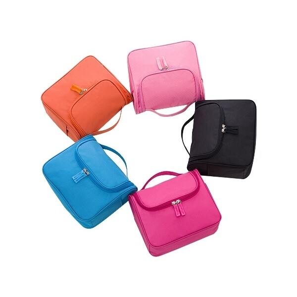 旅行用手提洗漱包(1入) 款式可選洗漱包/化妝包/收納包