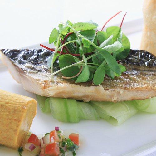 (任選)【富琳嚴選】安心好魚系列 正宗挪威薄鹽鯖魚片(1片入)