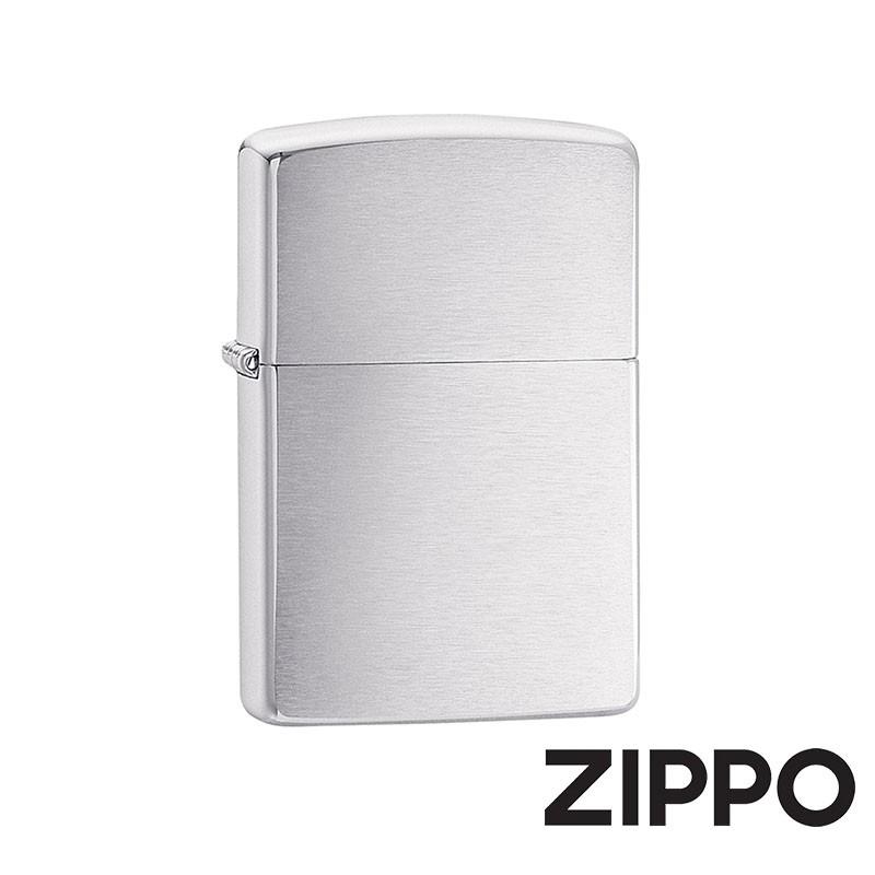 ZIPPO 經典沙子防風打火機 經典素面 200