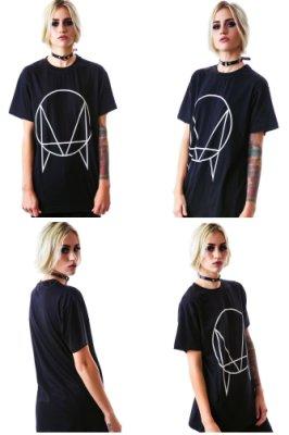 OWSLA Logo 短袖T恤 黑色 電音舞曲派對龐克搖滾樂團EDM