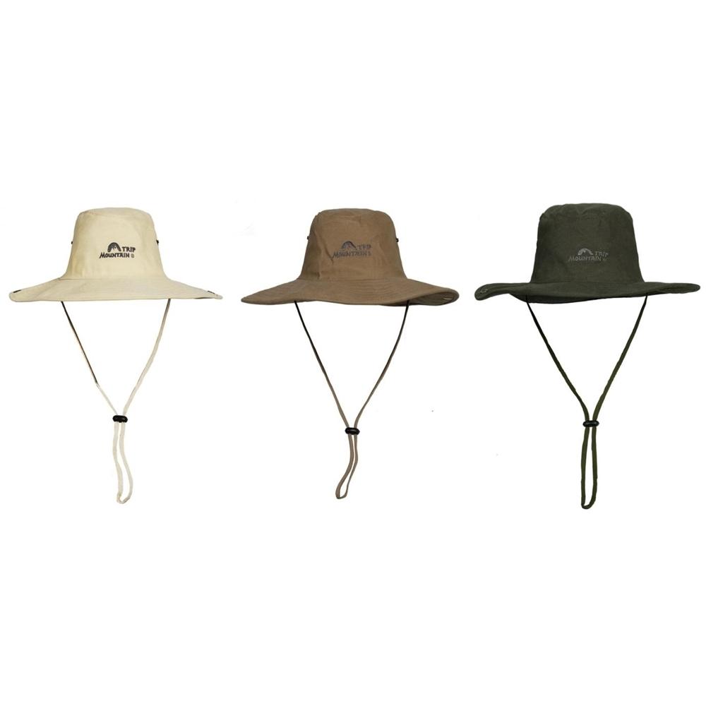 MOUNTAIN TRIP美國西部牛仔帽MC-248(附拷扣)防曬遮陽帽平頂帽休閒帽登山帽大邊帽圓邊帽圓盤帽