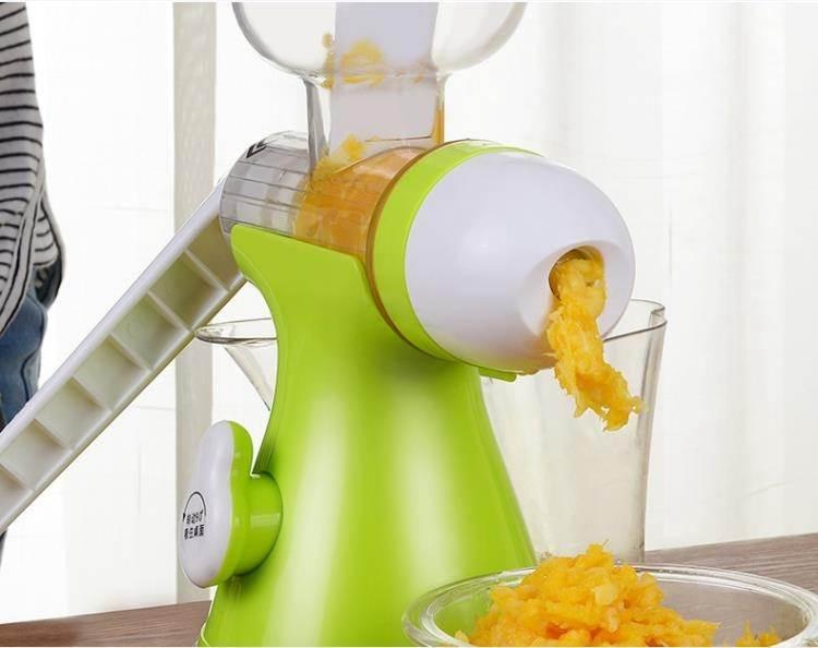 手動榨汁機 家用小型手動榨汁機杯擠檸檬壓水果汁手搖原汁機榨汁器冰淇淋機 8號店