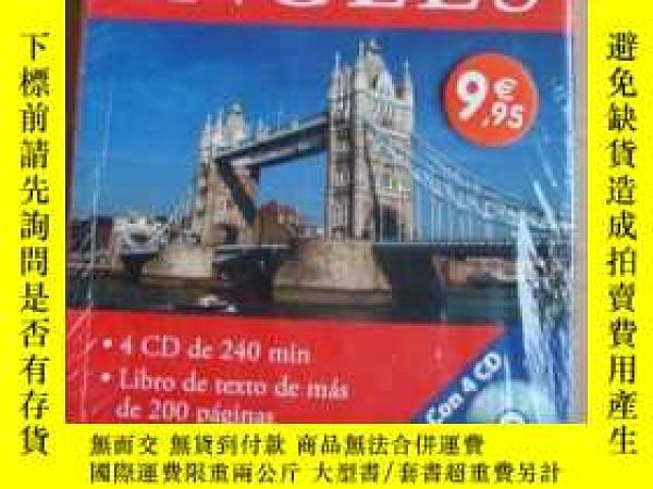 二手書博民逛書店Curso罕見intensivo con CD:INGLÉS 《