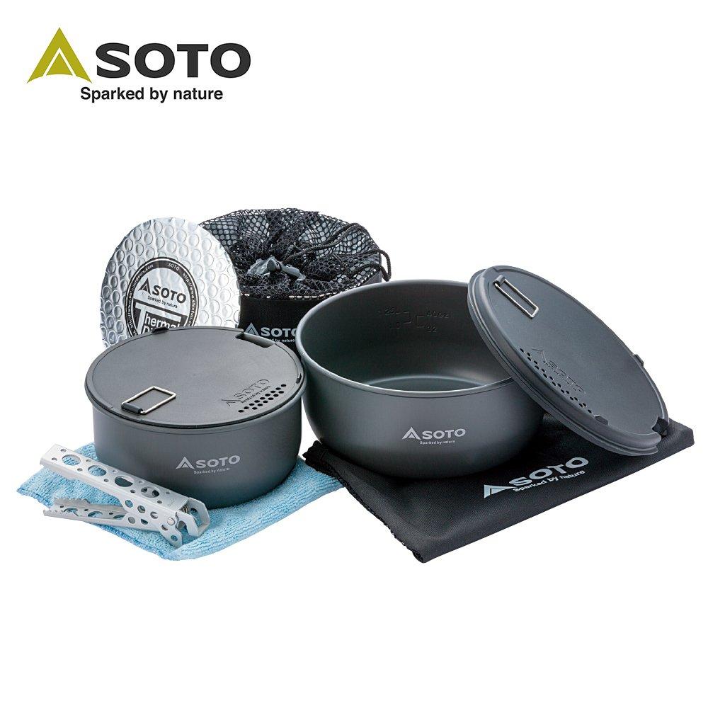 【SOTO】 戶外鍋具9件組 SOD-501