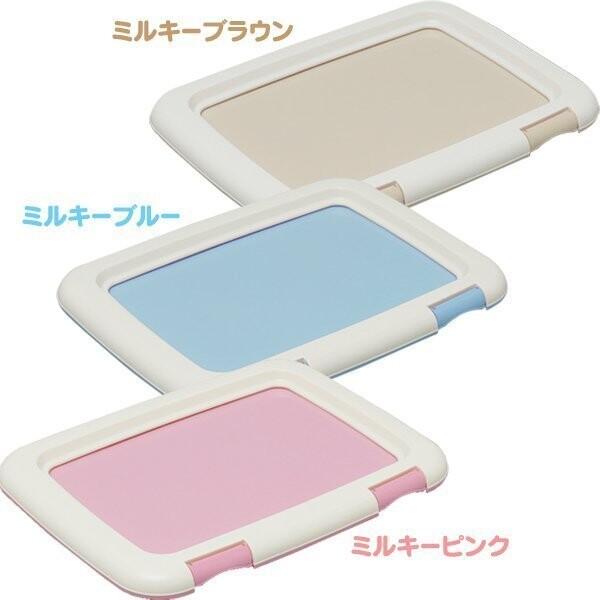 日本iris ag+抗菌fmt-485 平面狗便盆 桃色 / 藍色 / 茶色