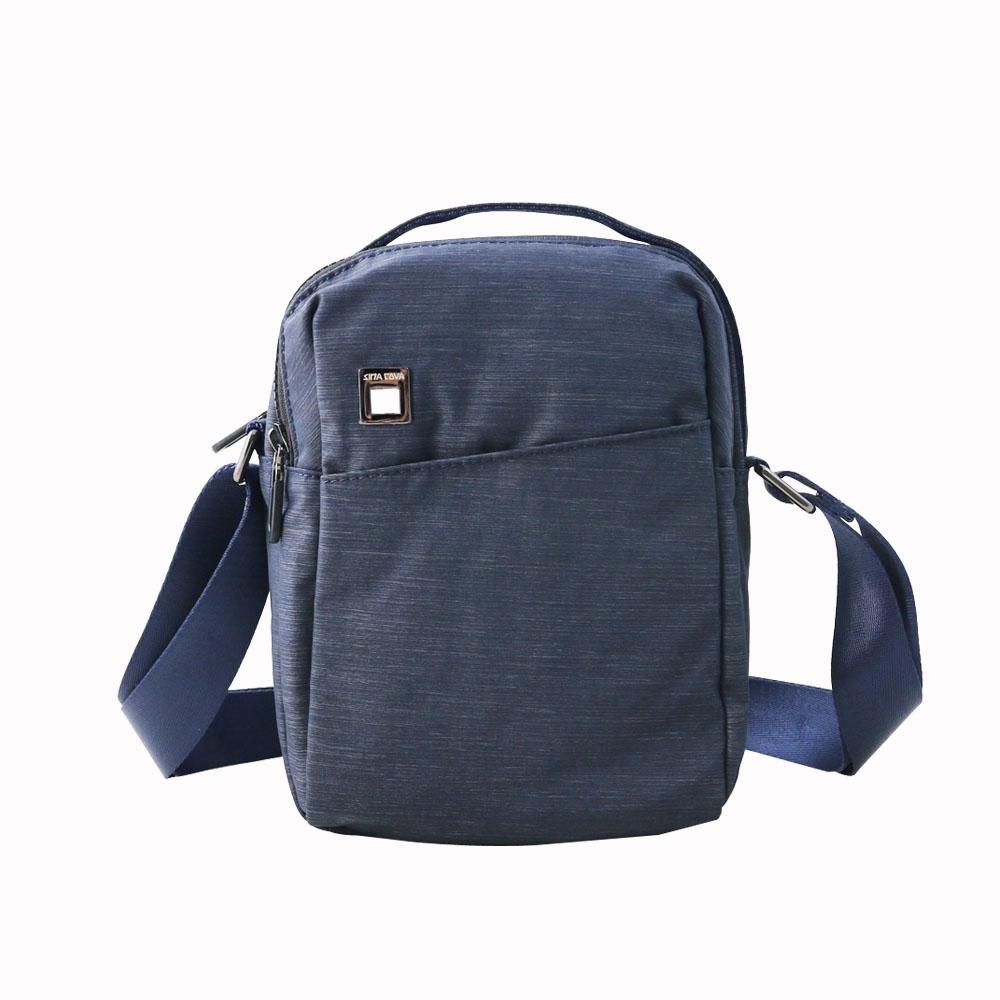 SINA COVA老船長織布斜背包-M78-13929-83H藍色