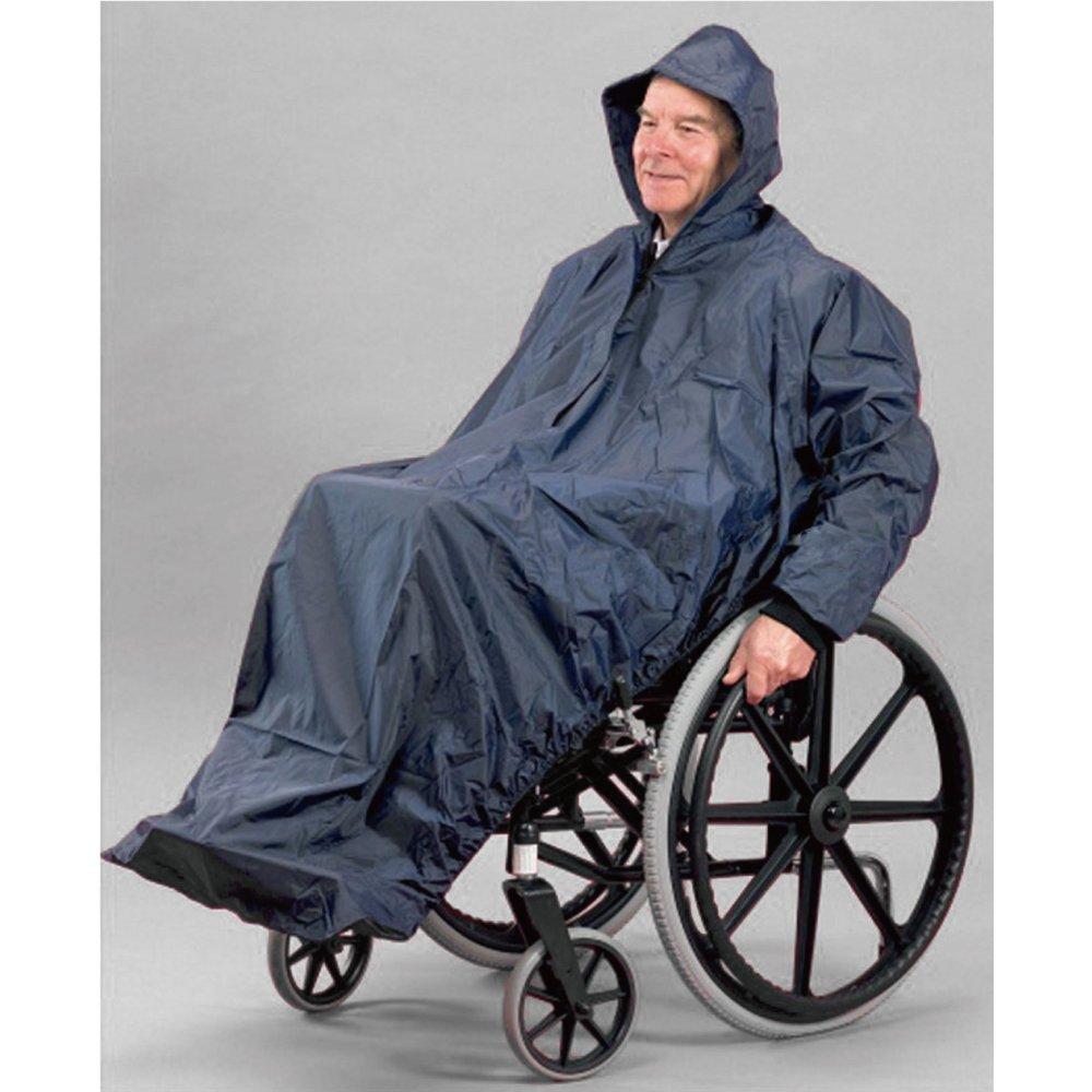 感恩使者 輪椅用雨衣-有袖設計 [ZHCN1732]-自己坐輪椅外出很方便~