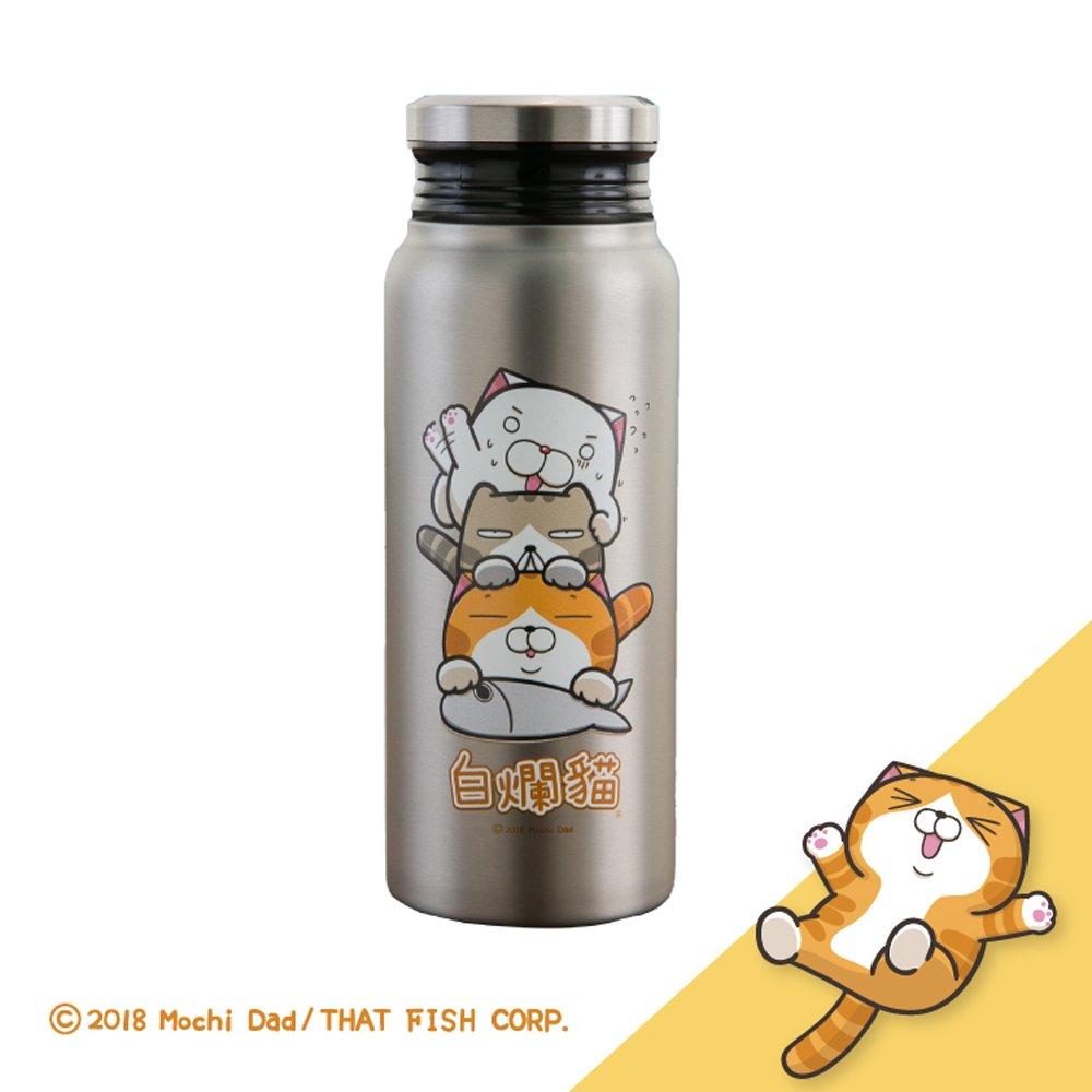 白爛貓真空保溫保冷瓶580ml
