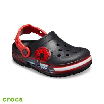 Crocs卡駱馳 (童鞋) 趣味學院達斯·維達酷閃小克駱格 206279-001