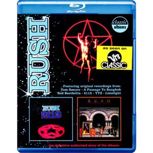 Rush合唱團:2112 Rush: 2112 & Moving Pictures - Classic Albums (藍光Blu-ray)