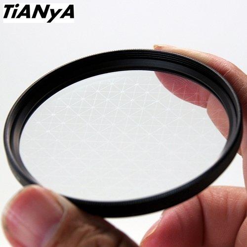 Tianya天涯不可轉37mm星芒鏡8線米字星芒鏡,適夜晚上路燈光車流珠寶星茫鏡