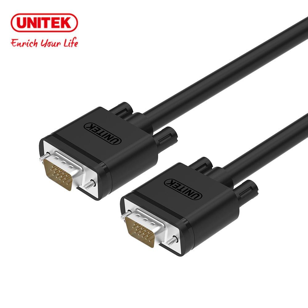 UNITEK  VGA高畫質傳輸線(公對公)8M