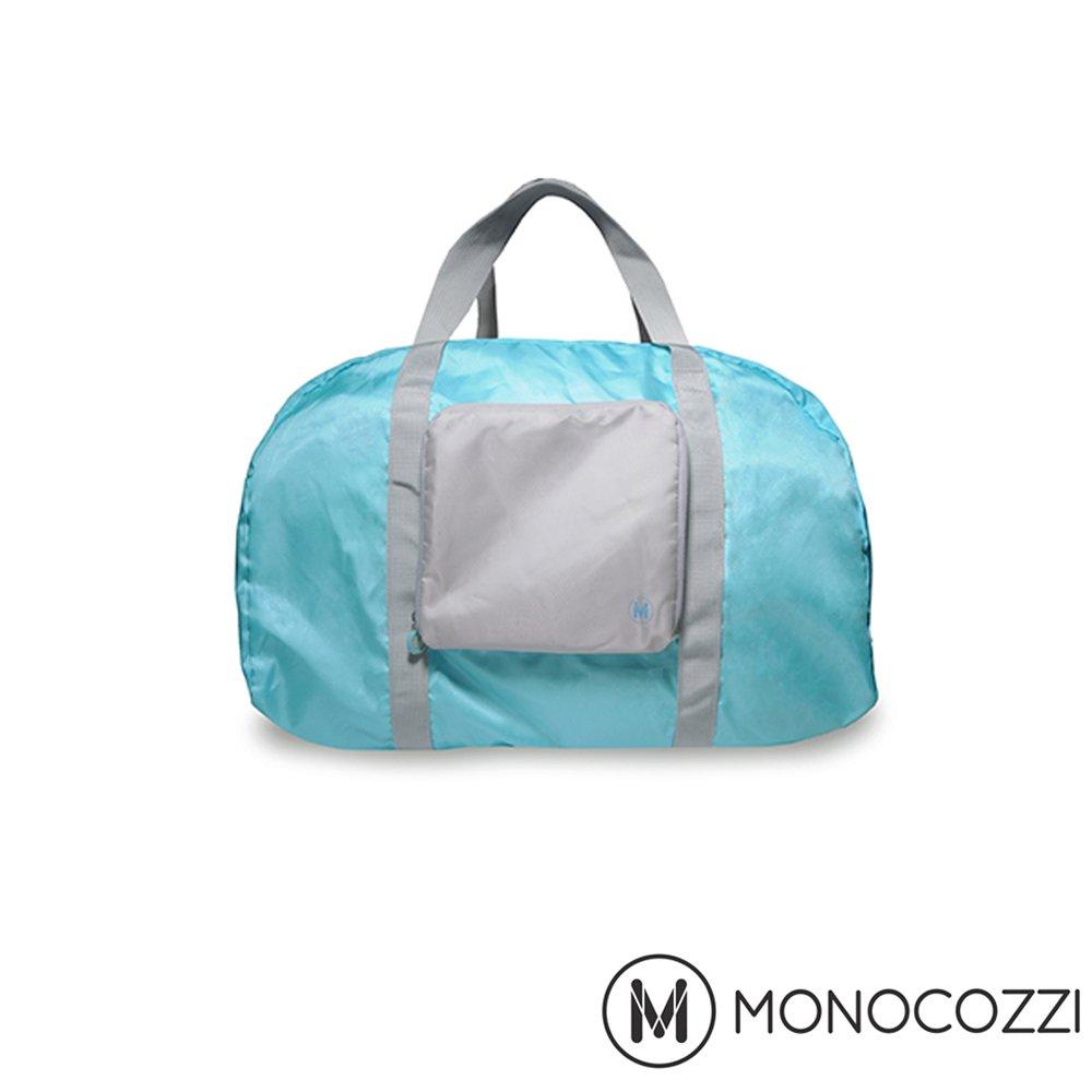 MONOCOZZI Lush Foldable Duffle Bag 魔術折疊購物手提肩背包 (嬰兒藍)
