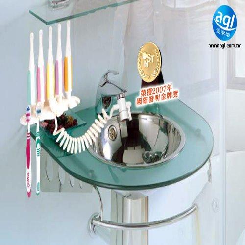 二合一水壓式美齒SPA沖牙器-家庭組