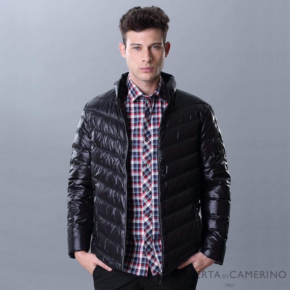 ROBERTA諾貝達 禦寒保暖 羽絨舒服夾克外套 黑色