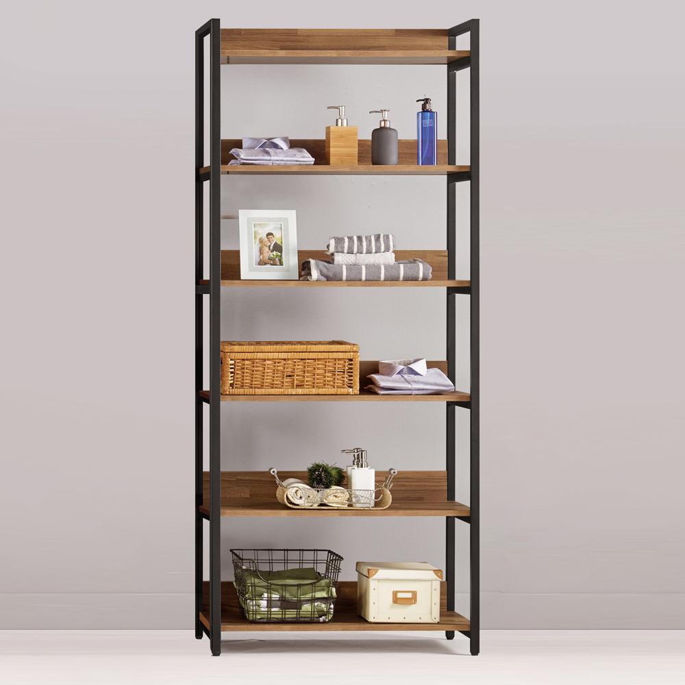 Boden-諾德2.7尺開放式多層收納衣櫃