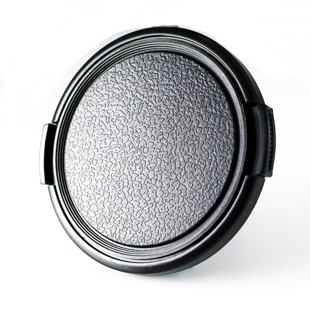類皮無字平捏鏡頭蓋55mm鏡頭蓋55mm快扣鏡頭前蓋55mm外扣旁捏鏡頭保護蓋子lens cap