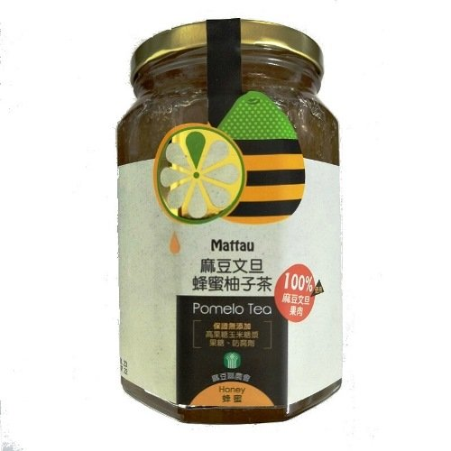 (任選) 【麻豆區農會】麻豆文旦蜂蜜柚子茶800g