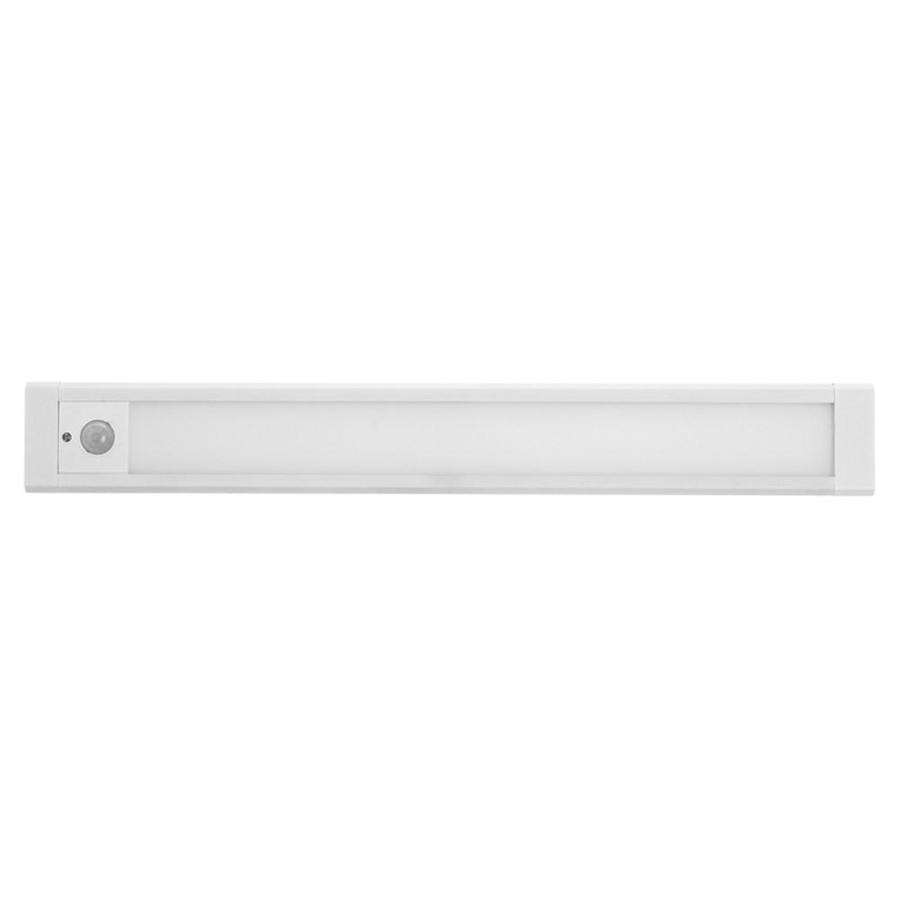 LED 充電人體感應式櫥櫃小夜燈 全長30cm 白光 附3M磁鐵片+掛勾