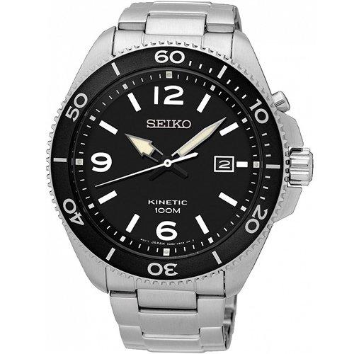 SEIKO 精工 KINETIC 衝鋒戰士人動電能腕錶 5M82-0AY0D SKA747P1