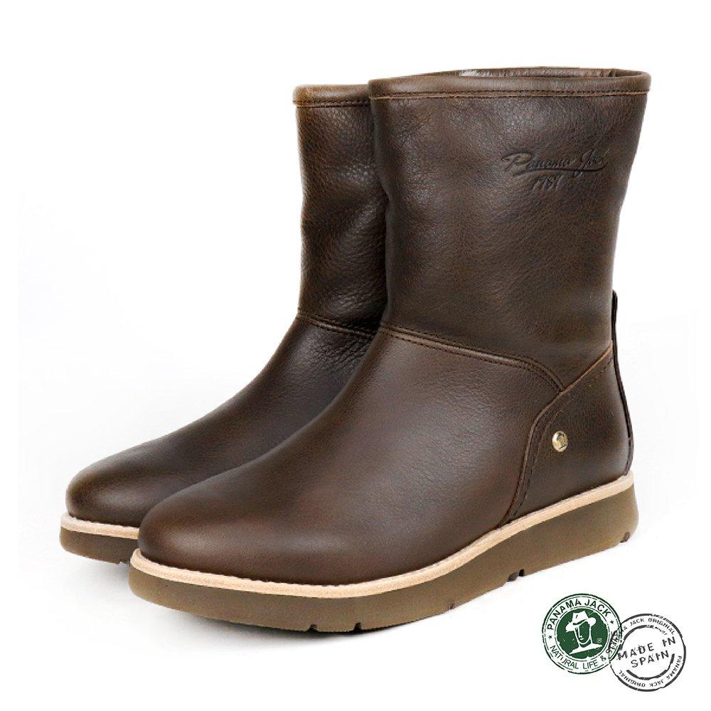 【Panama Jack】Steffany西班牙進口毛裡兩用造型輕量短靴   咖啡 (P8752W-MAR)