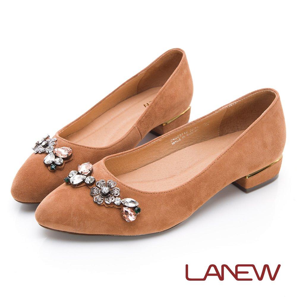 LA NEW Jasmine 低跟淑女鞋(女224043116)