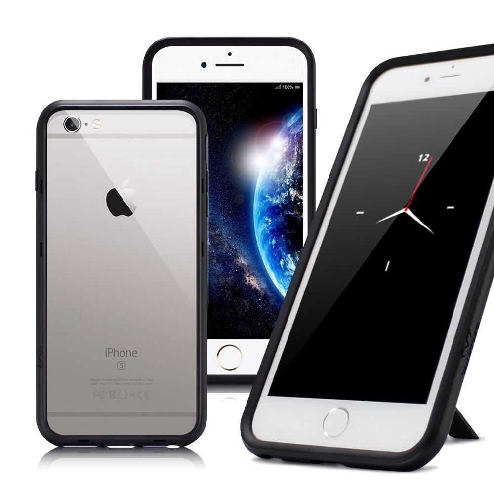 Thunder X  iPhone SE 2020 / SE2 / iPhone 8 / iPhone 7 / 6s 防摔邊框手機殼-黑