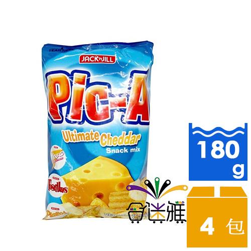 【免運直送】Pic-A綜合脆片-起司(180g/包)*4包