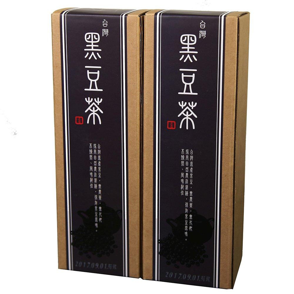 《源順》台灣養生黑豆茶(16包/盒)x2