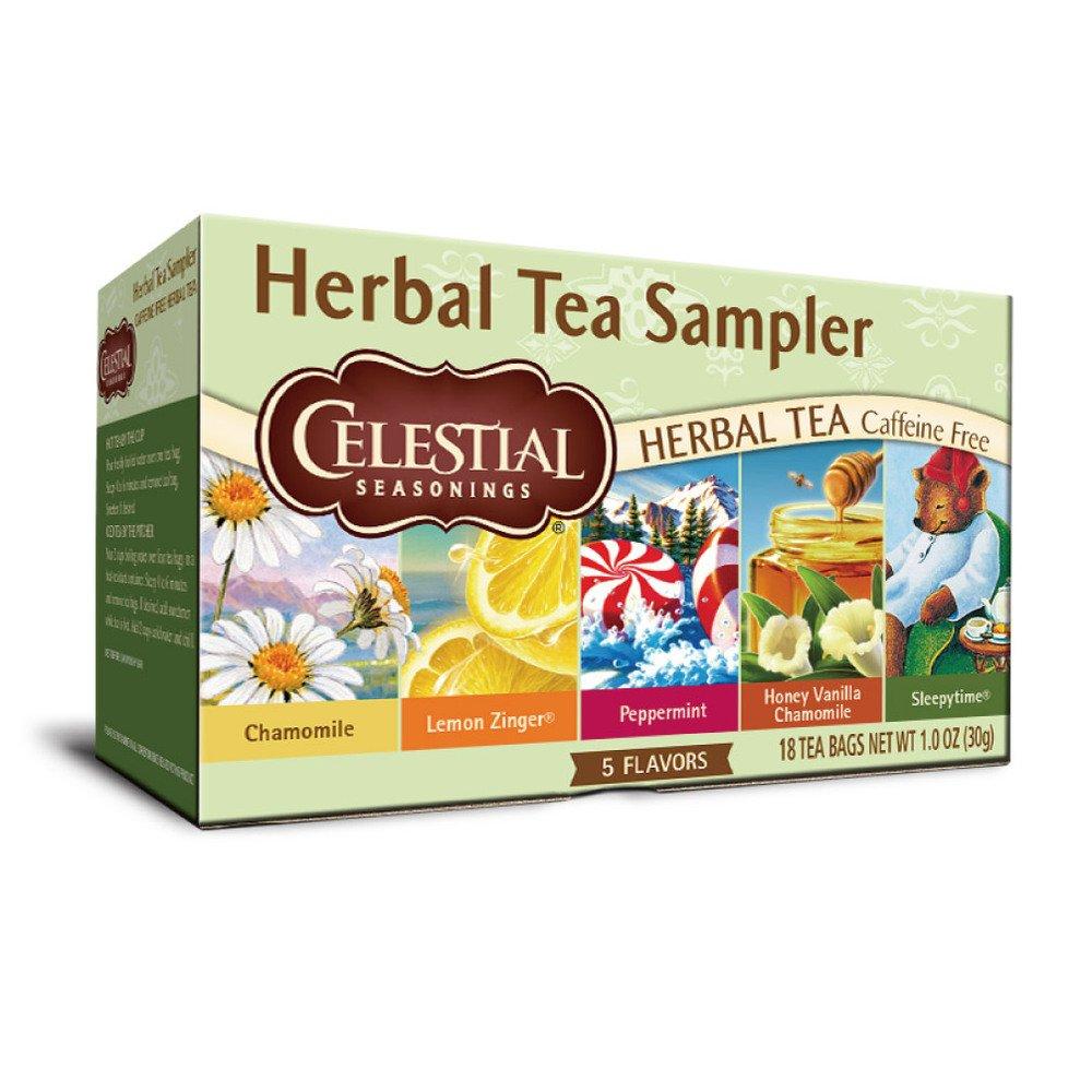 【Celestial】美國原裝進口 草本綜合茶6入組 (18包 x 6)