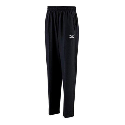 Mizuno [32TD408409] 男女 運動 休閒 慢跑 路跑 訓練 健身 輕量 柔軟 針織 長褲 黑