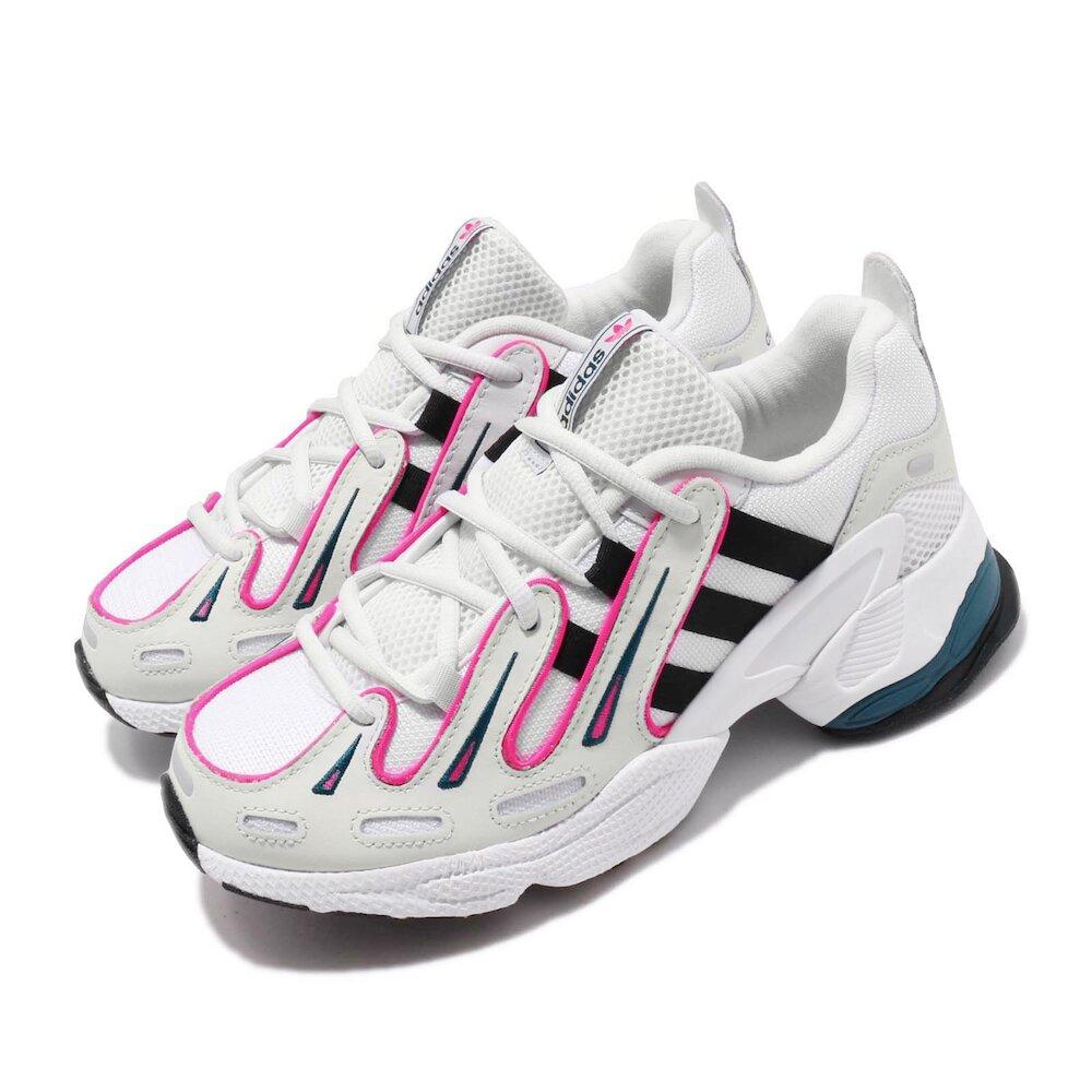 ADIDAS 休閒鞋 EQT Gazelle 老爹鞋 女鞋 愛迪達 三葉草 復古 增高 球鞋穿搭 白 黑 桃 [EE6486]