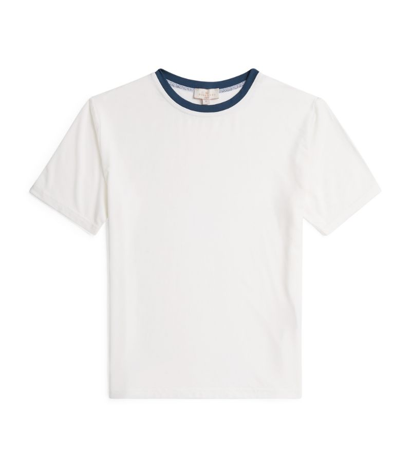 Homebody Kids Contrast-Neck T-Shirt (4-16 Years)