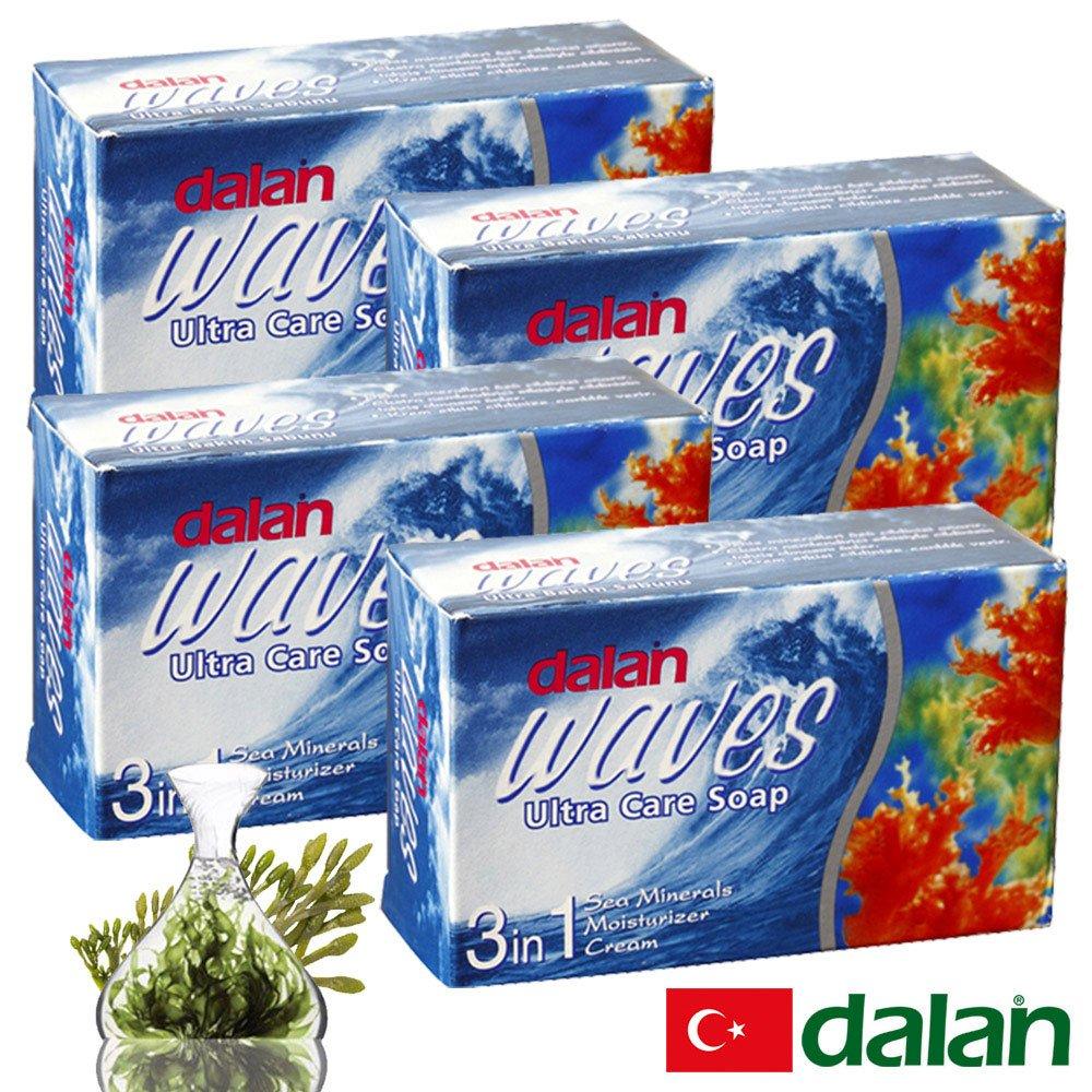 【土耳其dalan】墨角藻緊緻嫩白皂 4入組