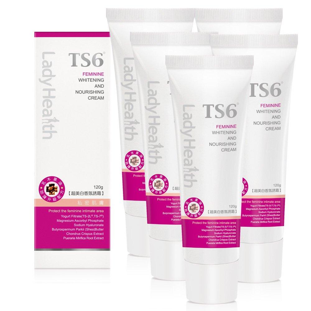 TS6護一生 超美白香氛誘霜(120g)x5入組