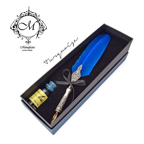 Manufactus 義大利羽毛沾水筆 | M09_T 土耳其藍